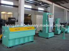 Middle Copper Wire Drawing Machine Annealer / Wire Cable Making Machine China manufacturer