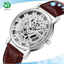 Fashion New Model Quartz Hollow Brand cheap wrist watches men