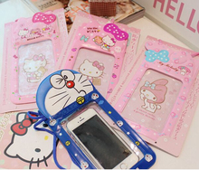 Hello Kitty swimming pvc waterproof dry bag for mobile phone