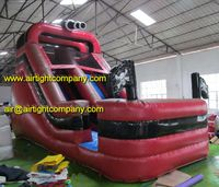 custom made popular inflatable pirate ship slide inflatable fun slides for sale