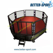 floor MMA cage for competition or training, MMA cage ground mount