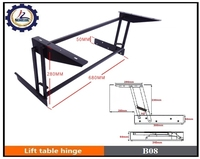 furniture hardware lift up coffee table mechanism wall cabinet hinge