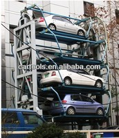 Multi Level Rotary Vertical Car Parking
