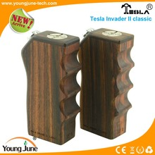 Classic, and Open Your Eyes !!! 2015 YOUNG JUNE 118.5*58.4*30 mm TESLA Invader II classic mod (Kamagong wood)