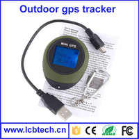 Outdoor handheld GPS logger gps tracker for persons and pets locator