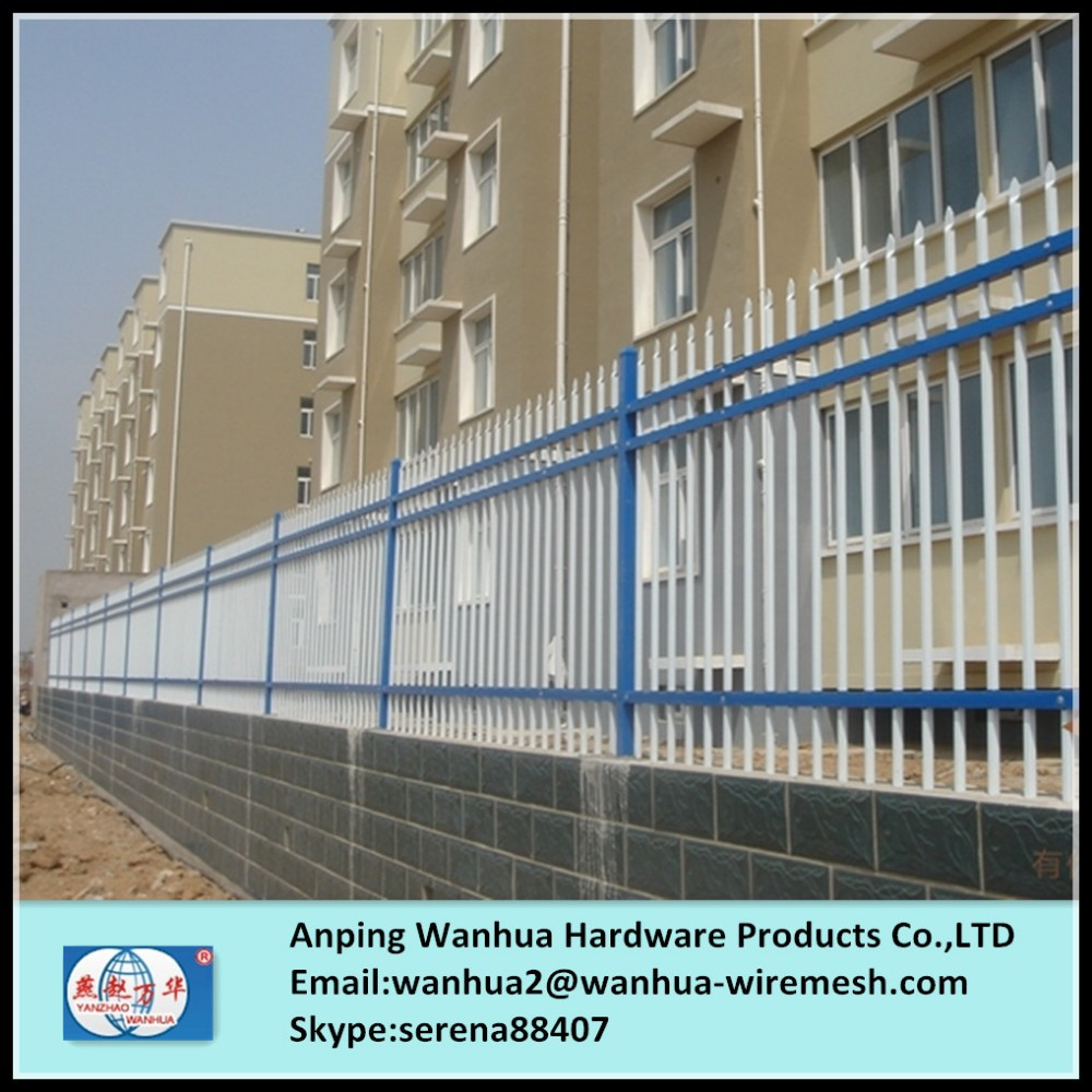 Factory sale decorative ornamental steel fence parts with