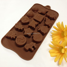 Pastry puff Muffin jelly pudding ice cube fondant Dining&Bar Candy&Pastry Head Chocolate cookie cup Silicone cake Molds moulds