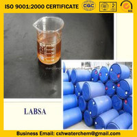 factory price linear alkylbenzene sulfonic acid LABSA 96%