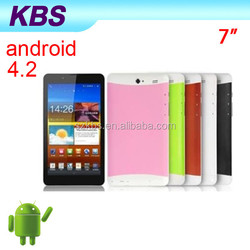 """The Cheapest Pc Tablet 3g Wifi Bluetooth GPS,Dual-Core 7"""" Android Tablet PC"""