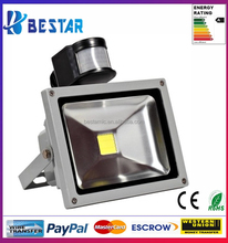 China Factory PIR Sensor LED Flood Light Security Light with 180 Degrees Motion Sensor