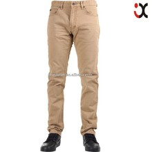 hot sale men khaki pants khaki trousers tight khaki pants JX16008