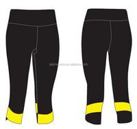 Jogging dri fit yoga capri pants