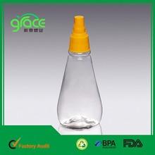 300ml PET Plastic Clear honey squeeze bottles suppliers