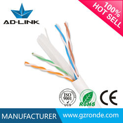 UTP cable Cat6 price lan Cable with ISO9001 factory Price