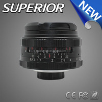 "Micro SLR 8.0 MP Focal length 35mm megapixel ""cctv lens"" manual focus F1.7 C Mount Lens clear Projector Lens"