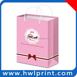 Luxury shopping paper bag OEM eco felt tote bags