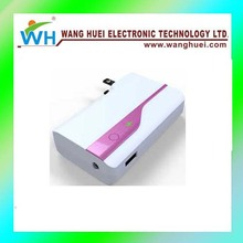 2-1combo 5200mah mobile phone power bank with Patent No and got CE-ROHS FCC
