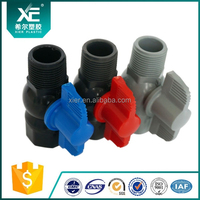 Water Pipe Female Thread Male Plastic Ball Valve 100% Factory Production