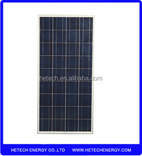 Hot selling 22 % efficiency 125w chiese photovoltaic panel solar prices
