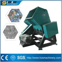 Plastic PET bottle crushing machine