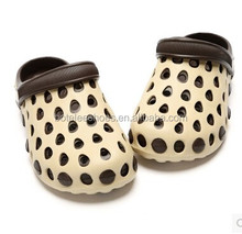 2015 new arrival summers kid boys girls eva garden clog shoes new design