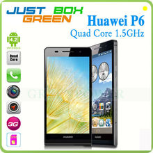 """Quad Core Huawei Ascend P6 Mobile phone 4.7"""" Capacitive Screen Android 4.2 mobile phone"""