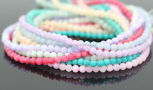 Wholesale 4 6 8 10 12mm Multi Color Jade Beads guangzhou
