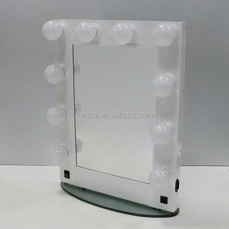 Ultimo stile hollywood salone specchio con luci specchio per il trucco illuminato strumento di - Specchio trucco illuminato ...