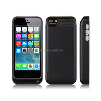 Backup Power bank External Charger Cover Battery Case for iphone 5