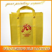 (BLF-NB112)non woven trendy reusable shopping bags