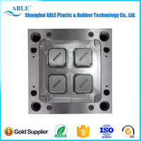 MOLD-240 Clock precision plastic fittings injection mold