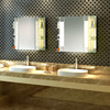 ISO certified factory supply customizable backlit lighted mirror cabinet