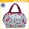 Fashionable flower ladies handbag , beach tote bag with cheap price