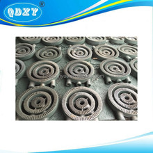 Cast Iron Burner for Gas stove , green color