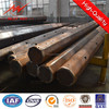 11kv tapered steel pipe supplier for overheadline project