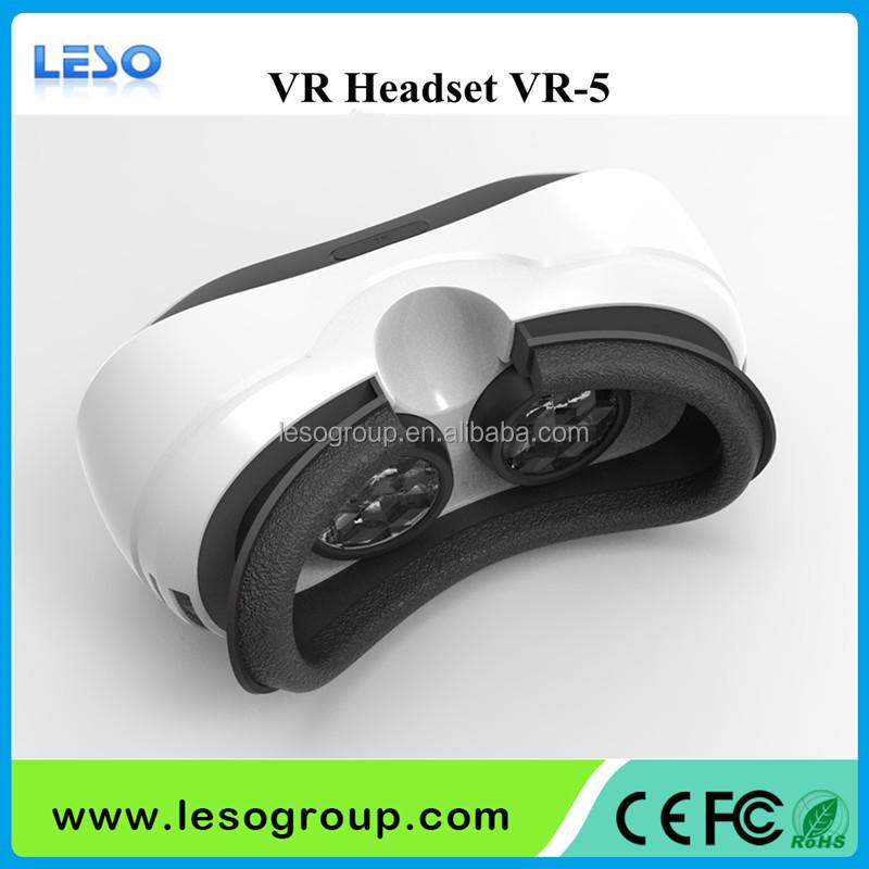 Wifi بلوتوث 3d vr مربع نظارات الواقع الافتراضي الروبوت 5.1 vr سماعة