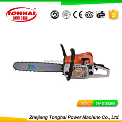 High Speed TH-GS5206 PSingle Cylinder Air-forced Cool 2 Stroke Saw clutch spring for chainsaw