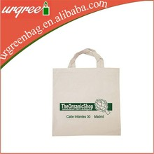 Organic Cotton Fabric Tote Vegetable Bag