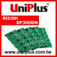 Toner chip for ricoh sp 300dn compatible cartridge toner reset chip ricoh
