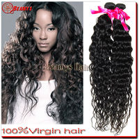18 inches 3pcs/set charming natural curly hair extensions 100% human virgin hair competitive price
