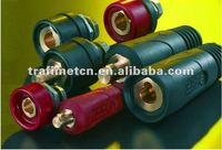 original Trafimet CABLE CONNECTOR plug and socket FOR WELDING MACHINE weld cable connector