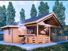 2015 prefabricated wood living house