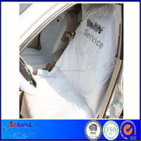 MDPE customize disposable plastic auto seat cover