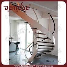 used metal stairs steel pipe handrail laminate tread stair