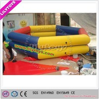 Skillful manufacture 7.5*7.5*1.2m inflatable swimming pool noodles with CE