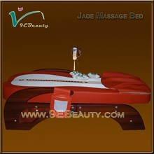 Adjustable jade roller massage bed for sale