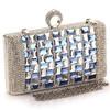 coin bag key bag hand bag with rhinestone