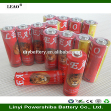 China cheap r6 aa battery um3 dry battery ,heavy duty r6 battery for sale