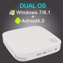 Dual Boot Windows 8.1 Windows 7 / Android 4.0 Mini pc dongle