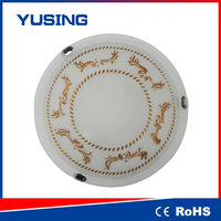 Round Plastic Ceiling Light Covers 400x400